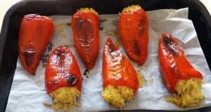 veganske punjene paprike
