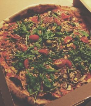 pravu vegansku pizzu