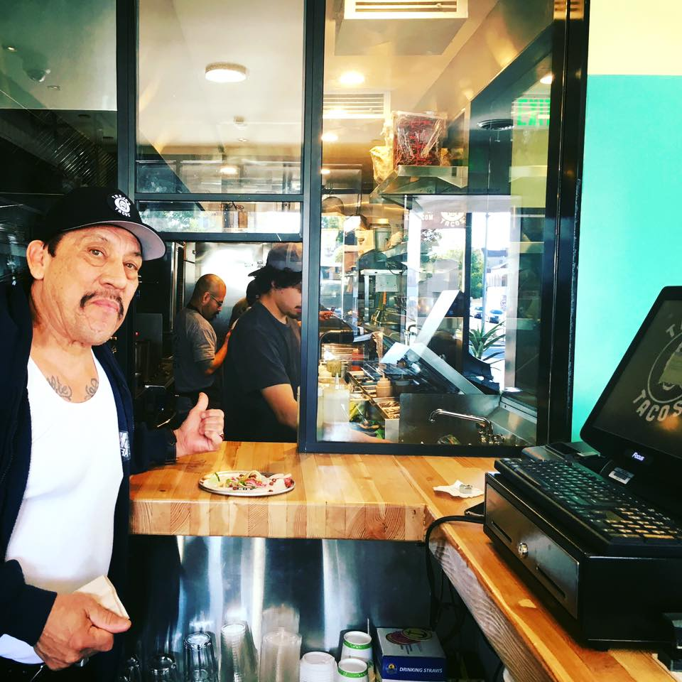 Trejo u svom restoranu (Foto: FB)
