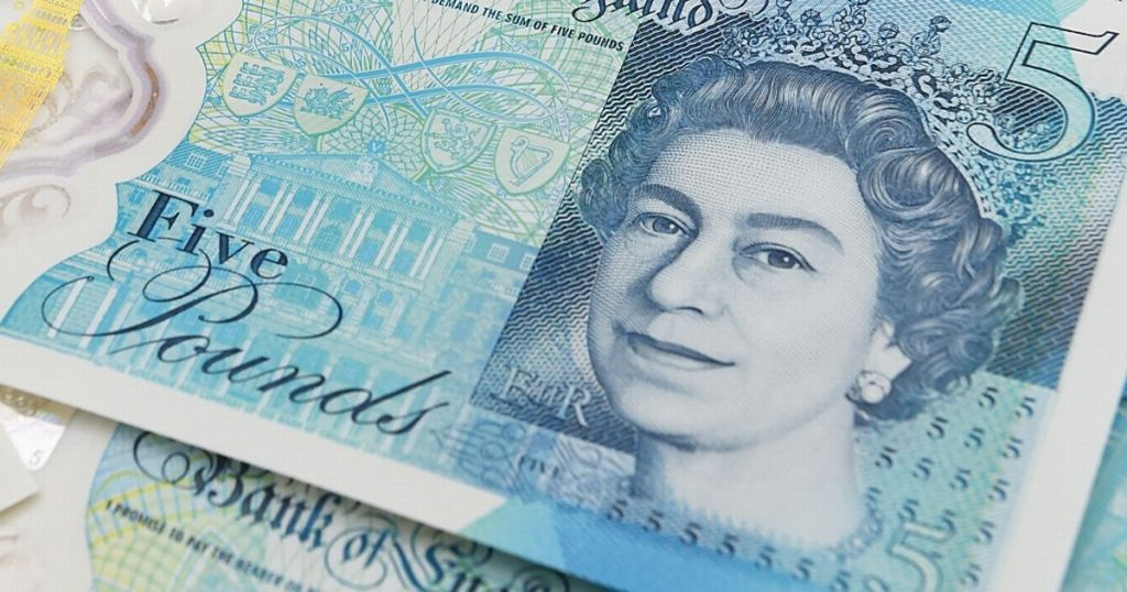 Nova britanska novčanica od 5 funti