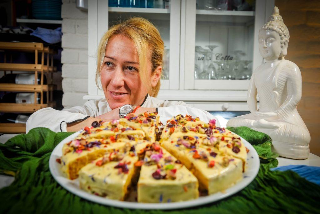 Kuharica Tanja Ratković osmislila je ovu predivnu tortu; Foto: Saša Zinaja